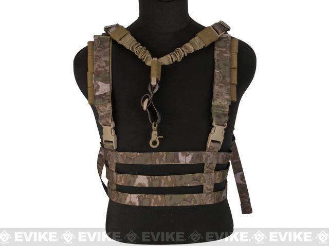 Avengers Tactical Low Profile MOLLE Chest Rig System - Arid Foliage