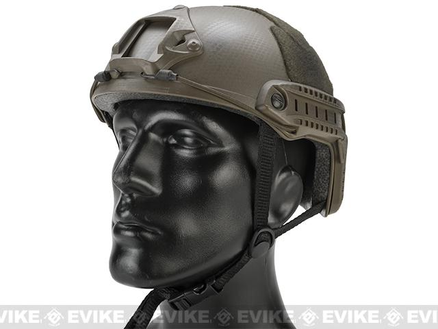 Emerson Bump Type Tactical Airsoft Helmet (MICH Ballistic Type / Basic / Navy Seal)