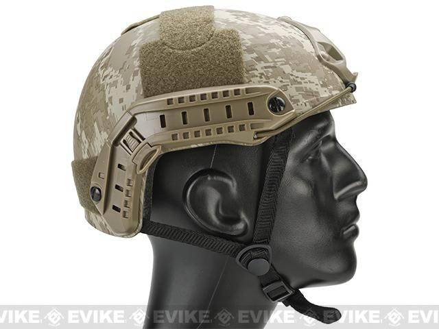 Emerson Bump Type Tactical Airsoft Helmet (MICH Ballistic Type / Basic / Digital Desert)