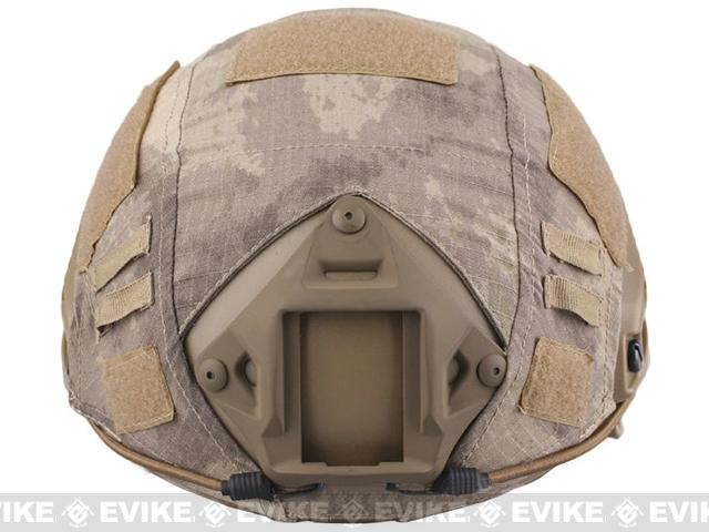 Emerson Tactical Helmet Cover for PJ and MH Type Airsoft Helmet - Arid Camo