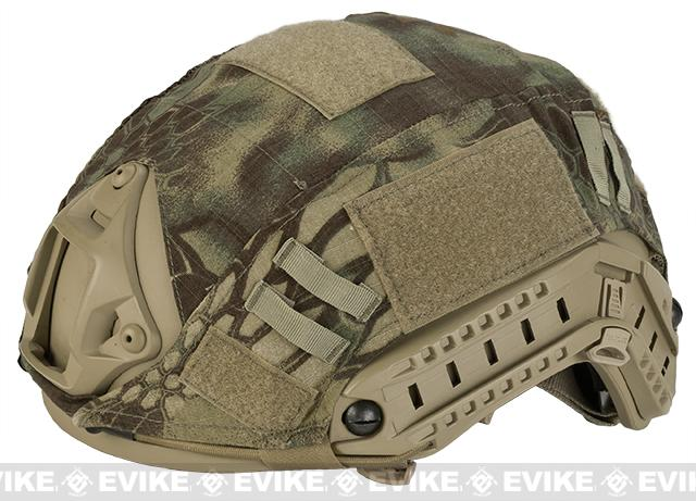 Emerson Tactical Helmet Cover for PJ and MH Type Airsoft Helmet - Wooodland Serpent