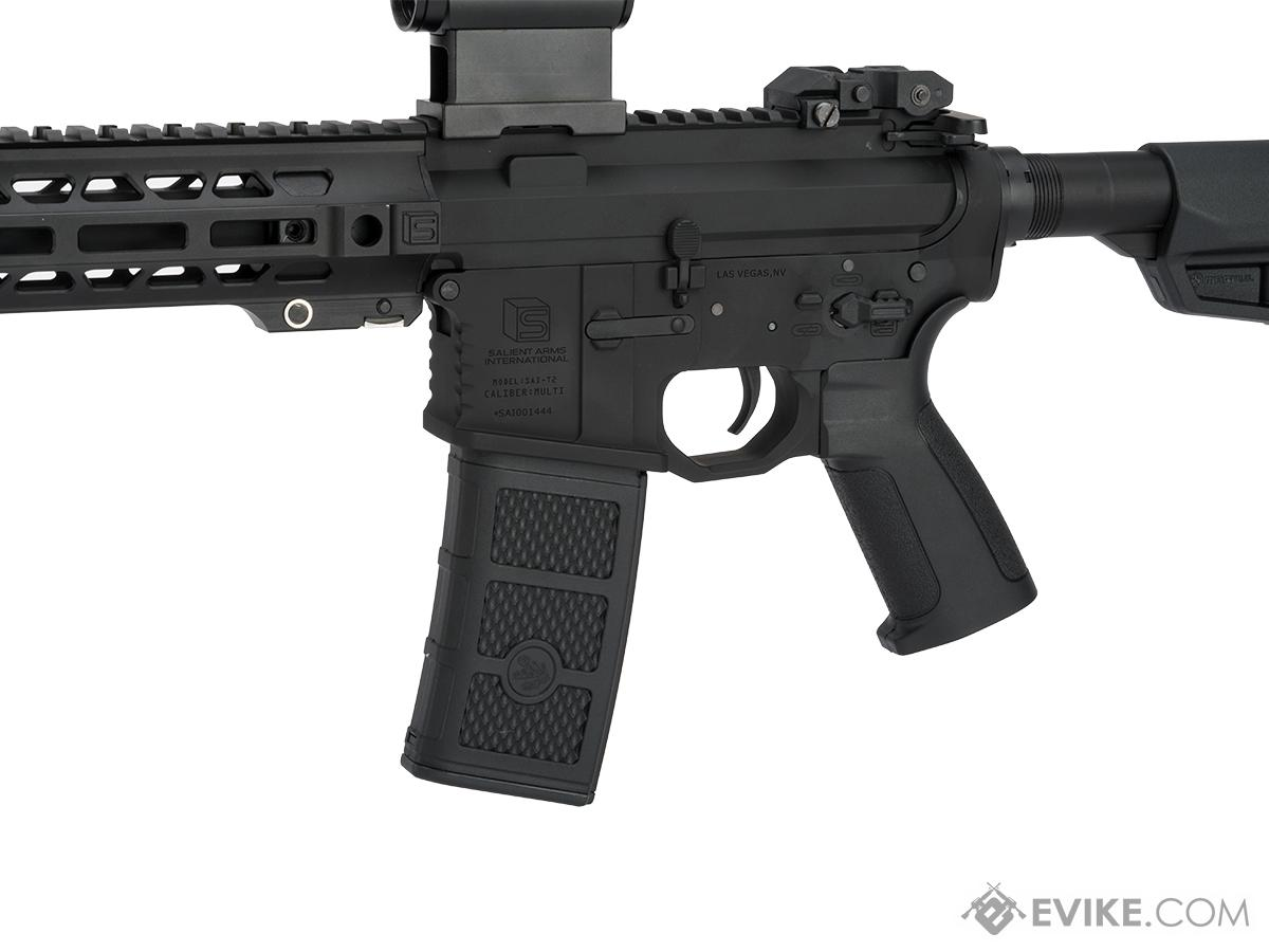EMG / SAI GRY AR-15 AEG Training Rifle w/ JailBrake Muzzle (Configuration: SBR / Black ITAR Furniture)