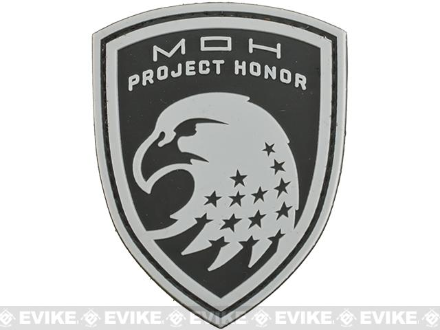 MOH Project Honor Eagle Patch - Black