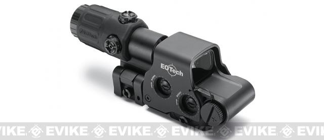 EOTech Holographic Hybrid Sight I EXPS3-4 with G33.STS Magnifier - Black