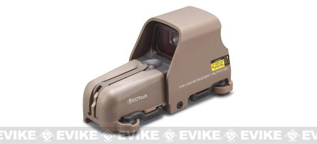 z EOTech 553 A65 Holographic Weapons Scope - Tan