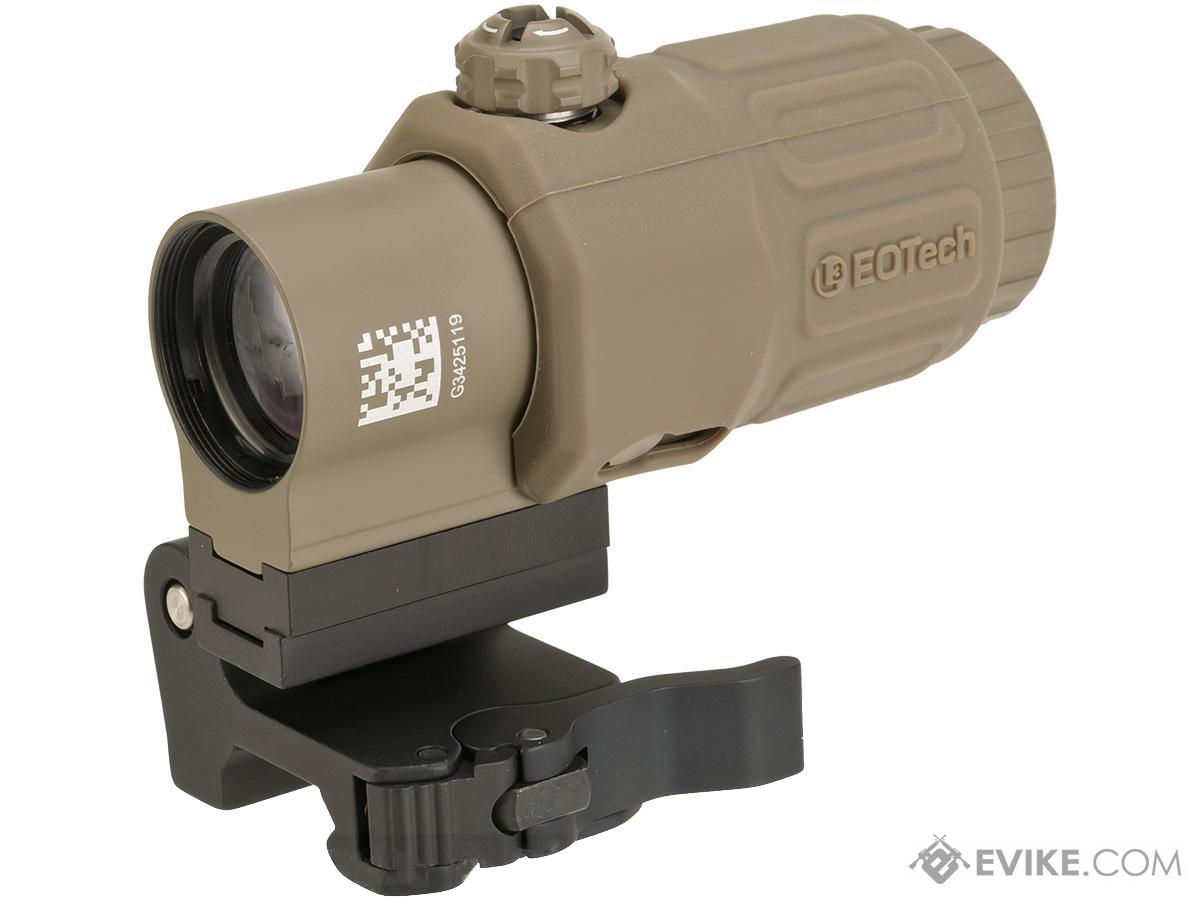 EOTech G33 3X Magnifier with STS Mount - Tan