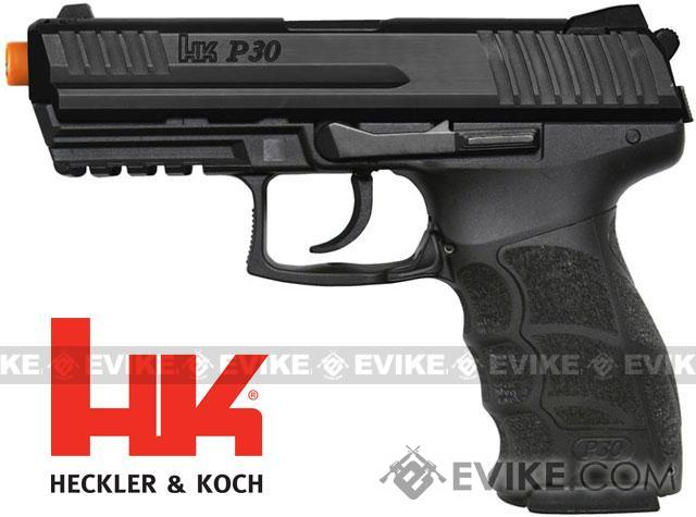 Umarex H&K Licensed P30 Full Size Airsoft Pistol with Metal Slide