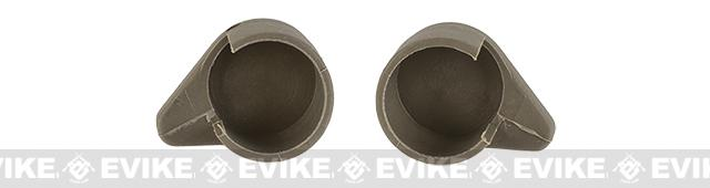 G&P Crane Stock Replacement Knob / Cover Set for Retractable Stocks - Dark Earth