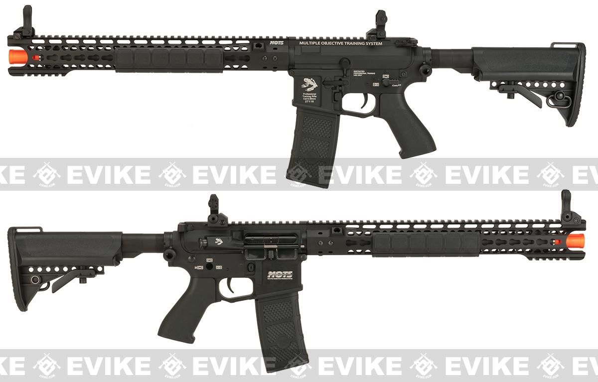 Pre-Order ETA March 2017 G&P Skull Frog Wire Cutter 16 Keymod M4 Carbine Airsoft AEG Rifle - Black (Package: Add Battery + Charger)