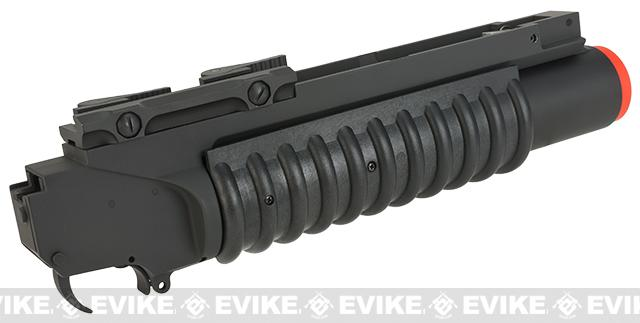 G&P Skull Frog  M203 Grenade Launcher with QD Levers - Short Type/Black