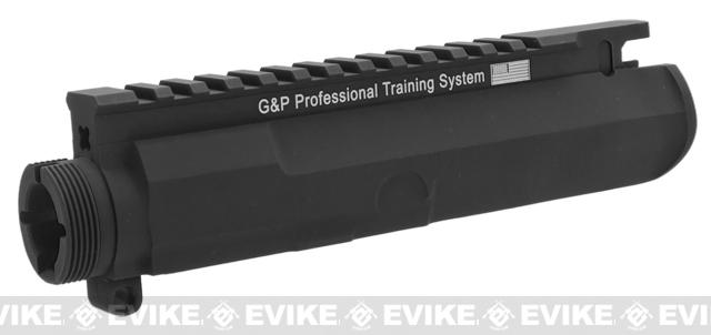 G&P Battlefield Type Upper Receiver for M4 / M16 Series Airsoft AEG Rifles - Black