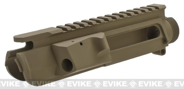G&P Battlefield Type Upper Receiver for M4 / M16 Series Airsoft AEG Rifles - Dark Earth