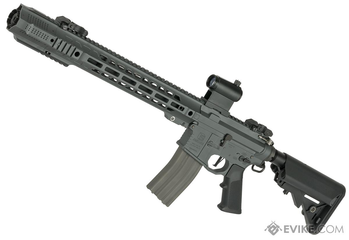 Pre-Order ETA December 2016 EMG / Salient Arms International X Fight Club Custom Limited Edition PTW Airsoft Training Rifle with Cerekote Grey Finish