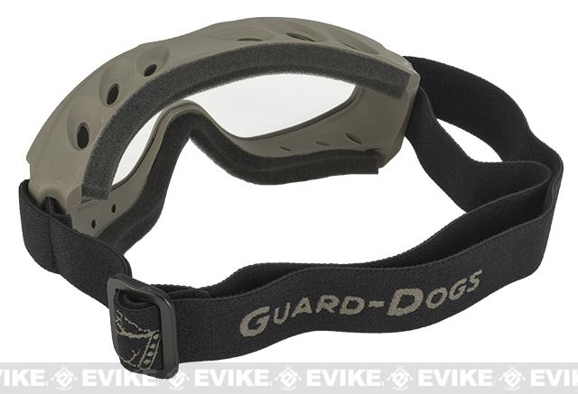 Guard-Dogs Evader II FogStopper Goggles  Full Seal - Dark Earth / Clear
