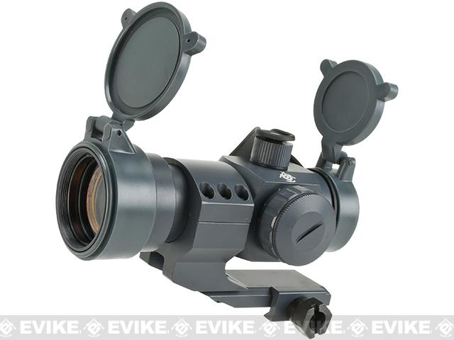 Evike Extreme 1.5x30 Red Dot Sight Scope System w/ Magnifier - Wolf Grey