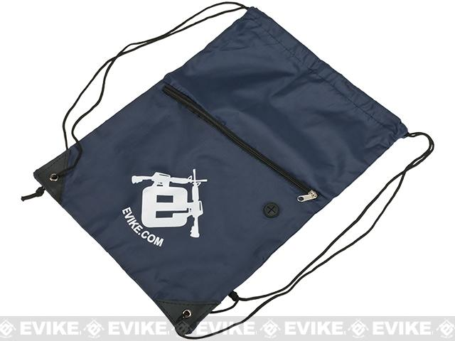 Evike.com Drawstring Sport Backpack - Navy