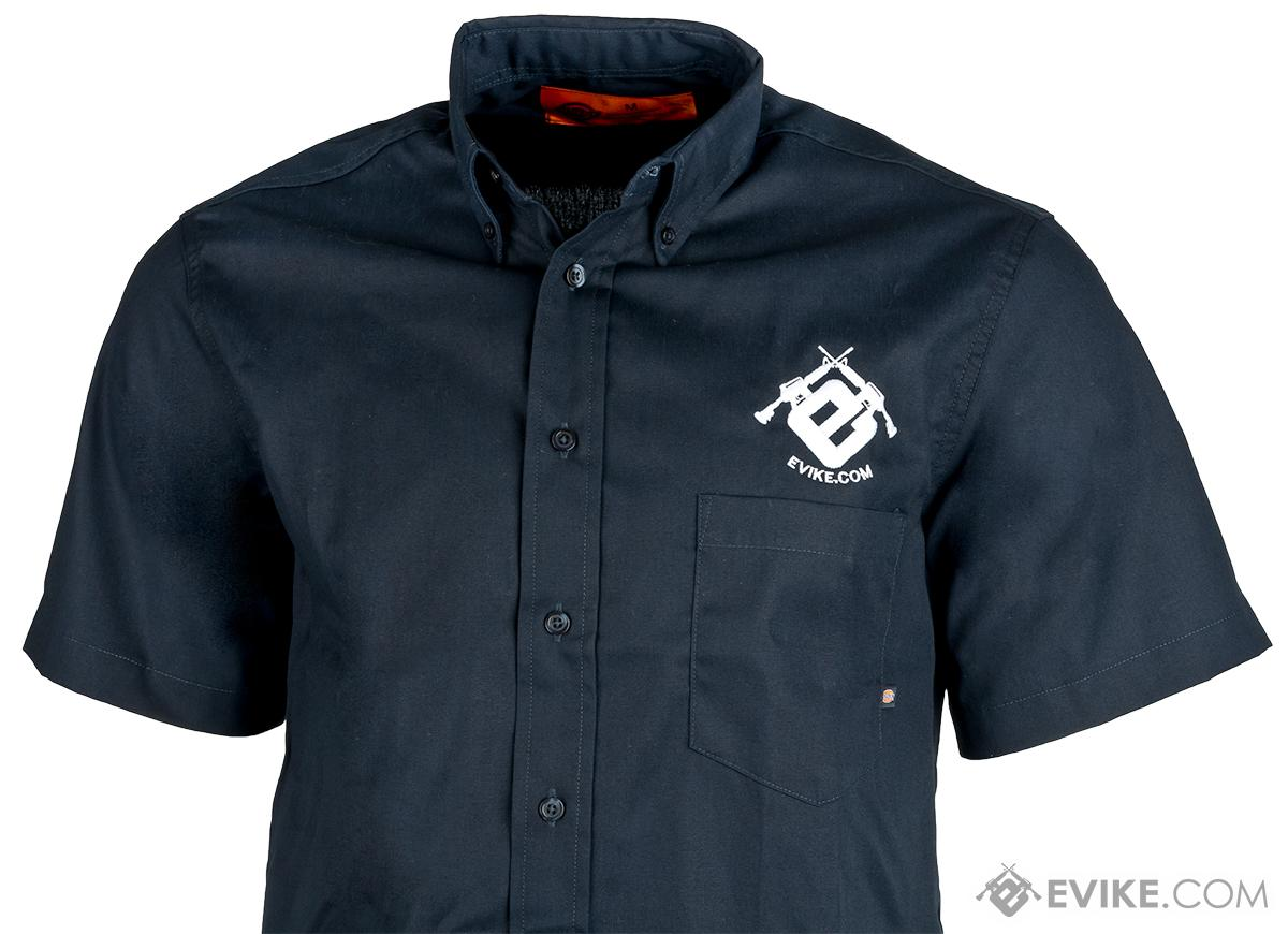 Evike.com Dickies Work Shirt - Evike Blue (Size: Medium)