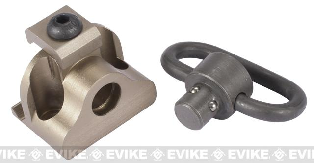 Element EX257 RIS Sling Mount w/ QD Swivel - Tan
