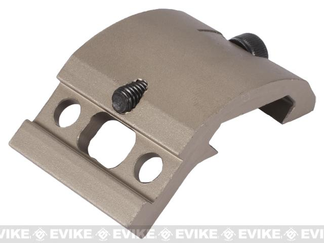 Element EX263 M951 / M961 Aluminum Flashlight Rail Mount - Tan