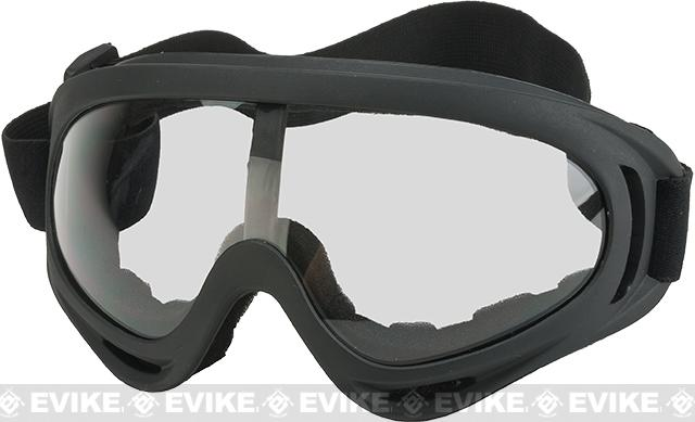 Element HERO Airsoft Full Seal UV Hi-Flow Extreme Sports Tactical Airsoft Goggles (Color: Clear)