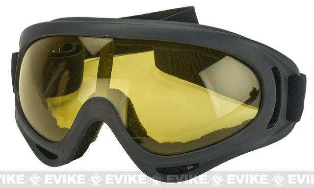Element HERO Airsoft Full Seal UV Hi-Flow Extreme Sports Tactical Airsoft Goggles (Color: Yellow)