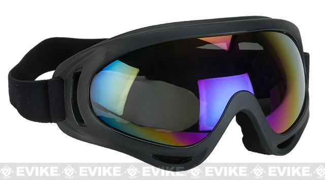 Element HERO Airsoft Full Seal UV Hi-Flow Extreme Sports Tactical Airsoft Goggles (Color: Mirrored)