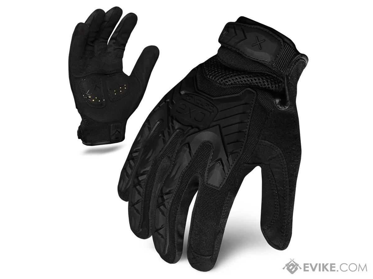 Ironclad Exo Tactical Impact Glove - Black (Size: Large)