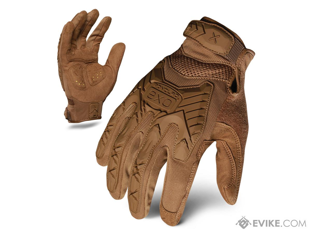 Ironclad Exo Tactical Impact Glove - Coyote (Size: Large)
