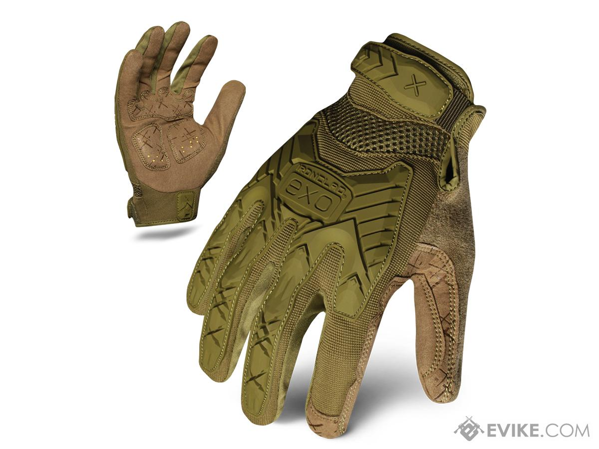 Ironclad Exo Tactical Impact Glove - OD Green (Size: Medium)
