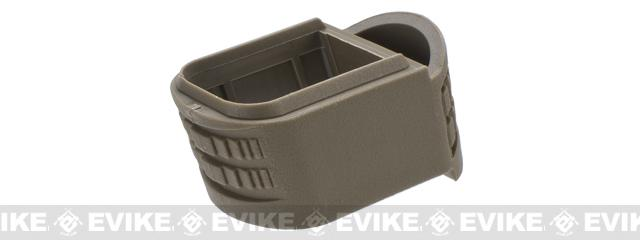 WE-Tech Magazine Cover for DM40 / XDM Series Airsoft GBB Pistols - Tan