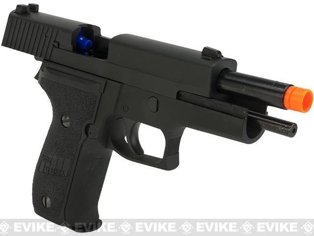WE-Tech M226 Standard Airsoft Gas Blowback GBB Pistol - Black