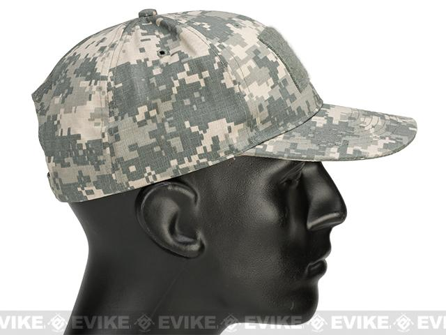 PROPPER™ 6-Panel Cap w/ Loop Field 63/35 Poly/Cotton Ripstop - Army Universal Camo