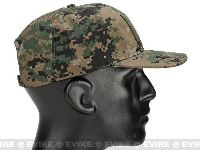 PROPPER™ 6-Panel Cap w/ Loop Field 63/35 Poly/Cotton Ripstop - Digital Woodland
