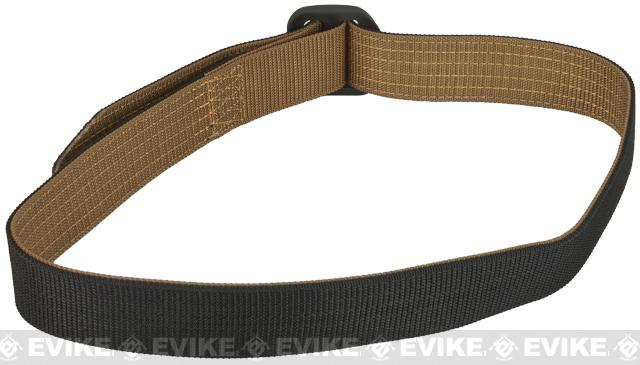 PROPPER 180 Reversible Nylon Belt - Black / Coyote (Size: Medium)