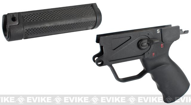 Future Energy Early Style Lower Receiver & Handguard for ICS / G&G MP5 Series Airsoft AEG Rifles