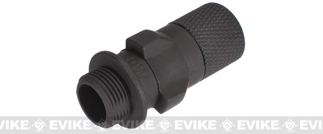 CYMA Threaded Flash Hider for MP5K / MP5 PDW Series Airsoft AEG Rifles