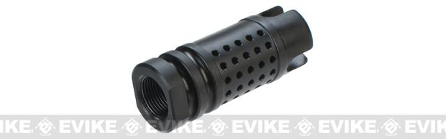 PTS M4SDII Airsoft Flash Compensator - 14mm Negative