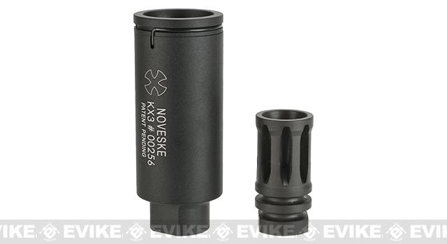 SOCOM Gear Noveske KX3 Sound Amplifying Flashhider- Black  / CCW