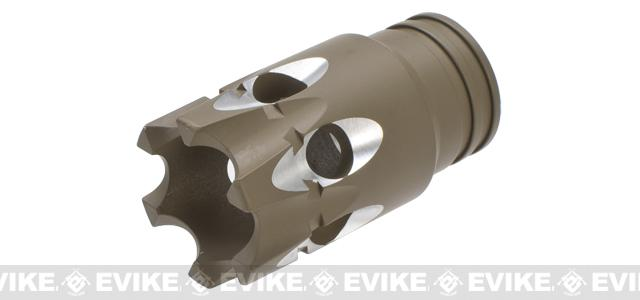 G&P Aluminum Choke Tube for Airsoft Shotguns - Sand