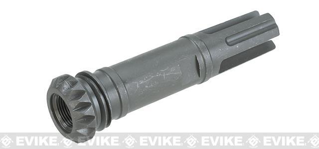 WE-Tech Steel MK17 Three Prong Flashhider - 14mm Negative