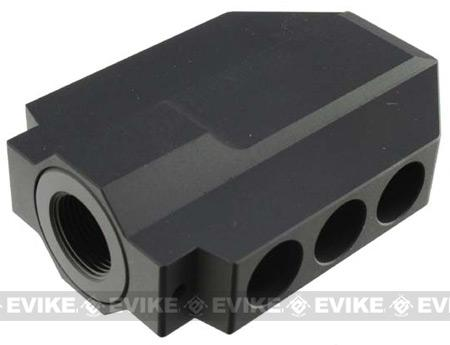 Matrix XL Sniper Type M82 Dino CNC Flashhider for Airsoft AEG (14mm-)