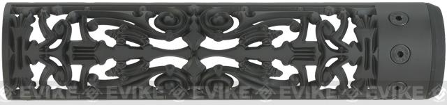 Unique-ARs Filigree 9 CNC Handguard for M4 & M16 AEG / GBBR / Real AR-15 Rifles – Black