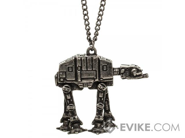 Star Wars AT-AT Walker Metal Chain Necklace