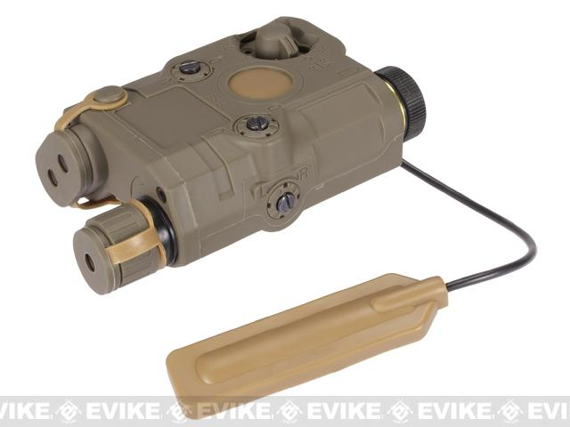 Pre-Order ETA September 2016 Matrix PEQ-15 Type Laser / Flashlight Combo w/ Remote Pressure Switch - Dark Earth