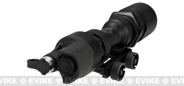 Bravo / Element Airsoft Tactical CREE LED SuperTac Weapon Light w/ Pressure Pad - Black