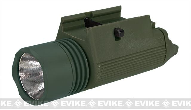 Matrix Tactical M3 Illuminator Combat Light w/ 230 Lumen CREE LED Bulb - OD Green