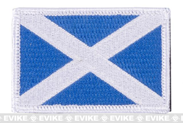 Matrix Hook and Loop Scotland Flag Patch