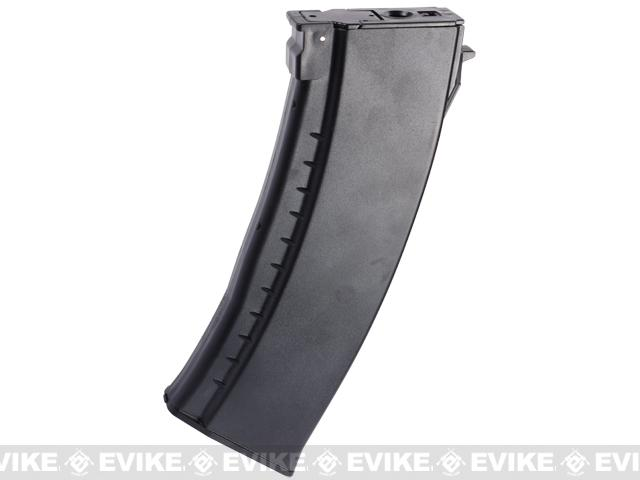 Matrix 520rd Flash Mag Hi-Cap Magazine for AK Series Airsoft AEGs - Polymer / Black