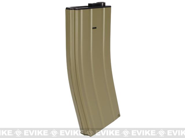 Matrix Full Metal 400 round Flash Mag for M4 M16 Series Airsoft AEG - Tan