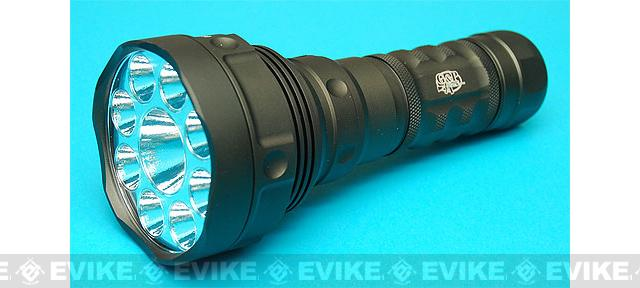 G&P HellFire 1800 Lumen 9X Torch CREE LED Tactical Light